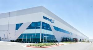 VWR International's new warehouse, located at 8711 W Riggin Ave in Visalia. Photo by: Jordon Dean