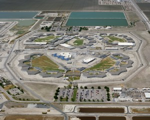 Corcoran State Prison. Photo courtesy California Department of Corrections and Rehabilitation.