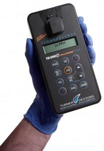 TDHI's 500D Oil-in-Water Analyzer.