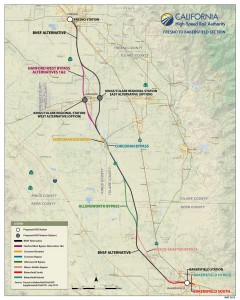 A map of the proposed routes. Click to enlarge.