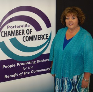 Porterville Chamber of Commerce  President/CEO Donnette Silva Carter