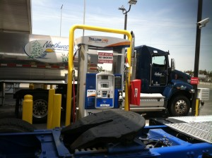Northwest Food Products Transportation LLC and Trillium CNG celebrating the grand opening of the newest CNG station.