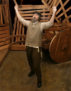 """Redwood High School's Jack O'Leary will star in """"Fiddler on the Roof"""" as Tevye, a poor dairyman and father of five daughters in  pre-revolutionary Russia."""