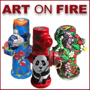 Art on Fire Graphic