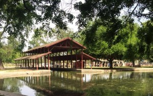 The boathouse at Mooney Grove Park is one of the first targets for renovation by The Real Mooney Grove Project.