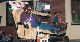 A redneck float at the Doo-Dah Parade…