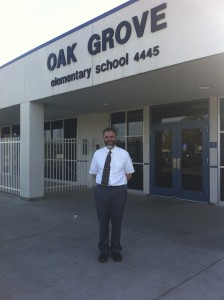 John Davis, principal of Oak Grove School