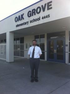 John Davis, principal of Oak Grove School