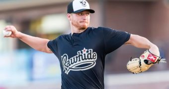 Arizona Diamondbacks right-hander Shelby Miller pitched a strong rehab performance during a recent Visalia Oaks game. Photo/Courtesy/Ken Weisenberger