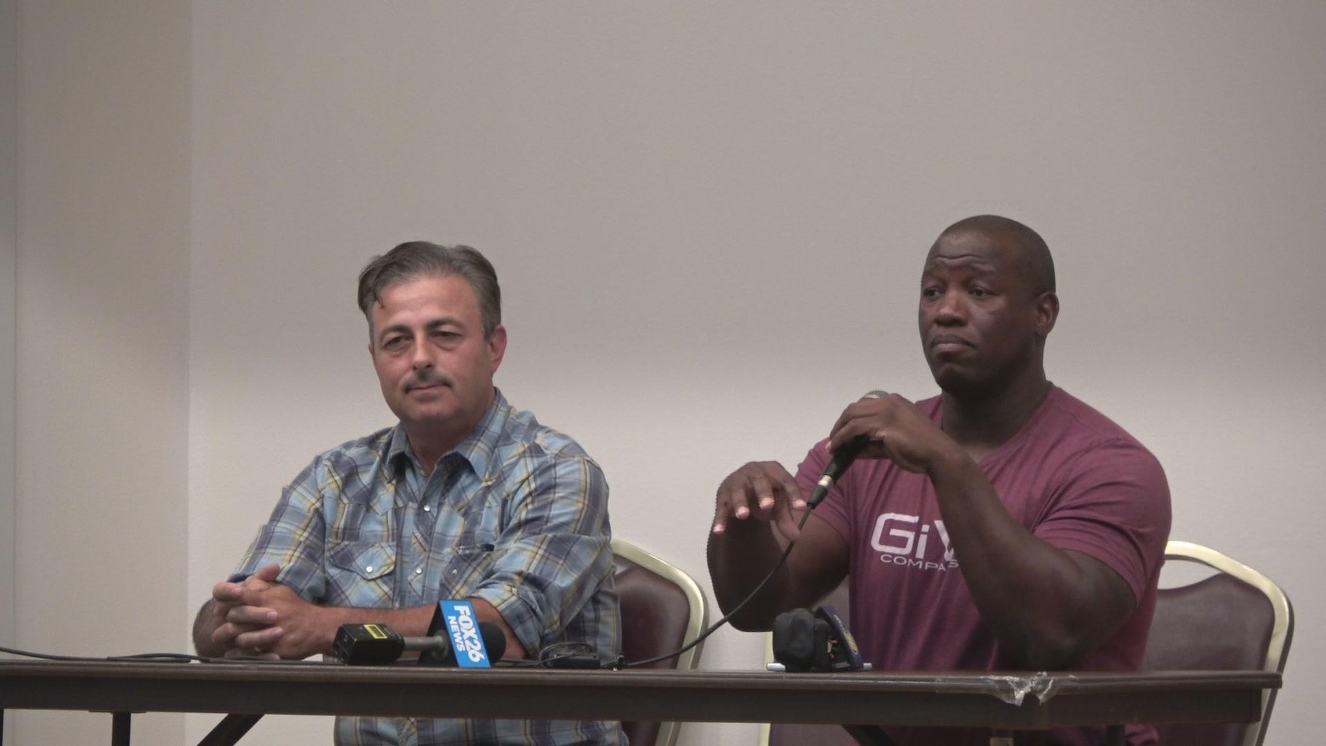 Xavier Avila And Carlton Jones Spoke At Jones Townhall Forum On Thursday Night Tony Maldonado Valley Voice